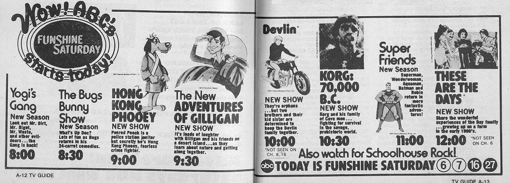 TV Guide Ads From The 70s